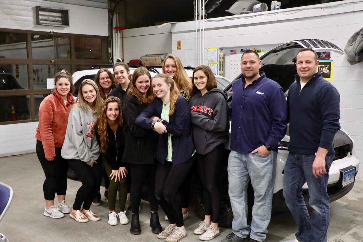 Pamby's Auto Body and Pamby's Service Center teamed up to go over car maintenance and collision questions with this local #RidgefieldCT @Girl Scouts of ...