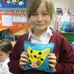 Image for the Tweet beginning: Y5 Sewing Club have made