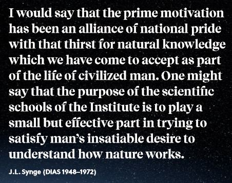 test Twitter Media - Today marks the date of birth of John L. Synge, 1897-1995, who served as Director of the @StpDias from 1956 to 1969. Synge brought a new direction and dynamism to the School with interests in general relativity geometry and a broad interest in all fields of classical physics. https://t.co/zu58n5SPaf