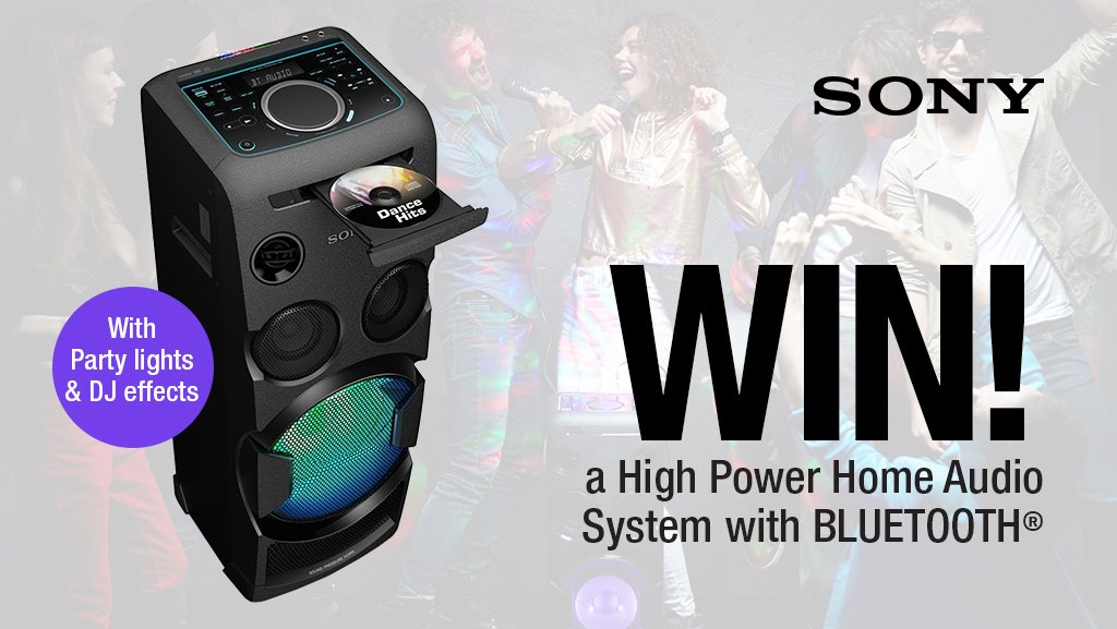 Enter our latest competition to #WIN a @SonyUK High Power Home Audio System with Bluetooth! Simply follow us @HughesDirect & RT 🍀🎁 Ends 27/03/19, Ts&Cs apply - https://www.hughes.co.uk/competition-terms-and-conditions …