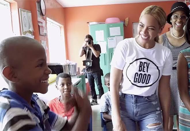 #BeyGood4Burundi Beyoncé está colaborando com a UNICEF para trazer água limpa para a nação Burundi , no leste africano
