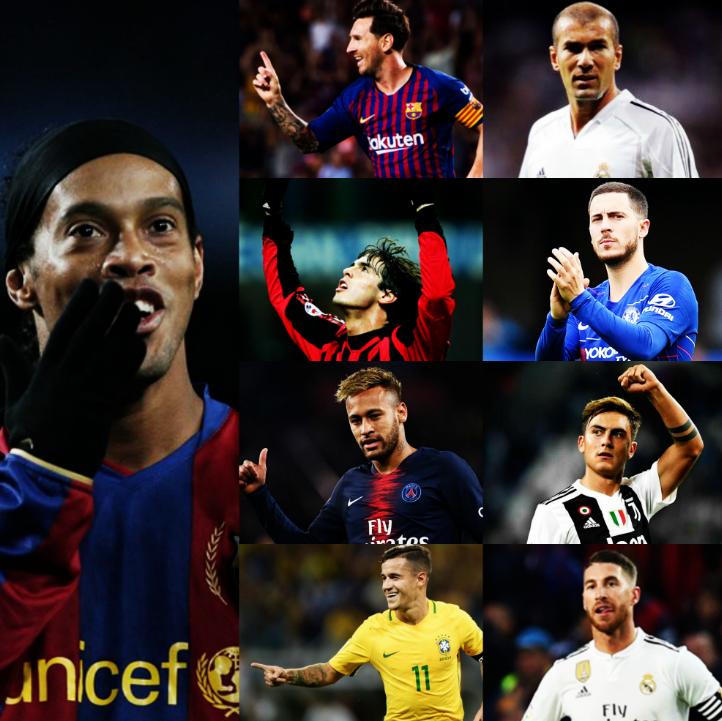 El maestro de Messi, el rival que más sorprendió a Zizou, el referente de Kaká, la inspiración de Hazard, la leyenda ante la que Neymar se rindió, la figura favorita de Dybala, el modelo a seguir de Coutinho y la pesadilla de Ramos. El mago que marcó a una generación entera. R10.