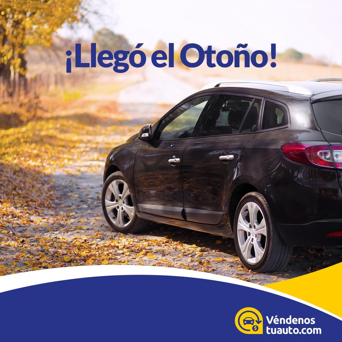 ¡Inicia el otoño! 🍂 🌰 Es tiempo de renovarse con el cambio de estación y vende tu auto usado para empezar con uno nuevo.  #Véndenostuauto #Otoño #Chile #FelizOtoño #Jueves #Autos https://t.co/dSdEF7b6gc