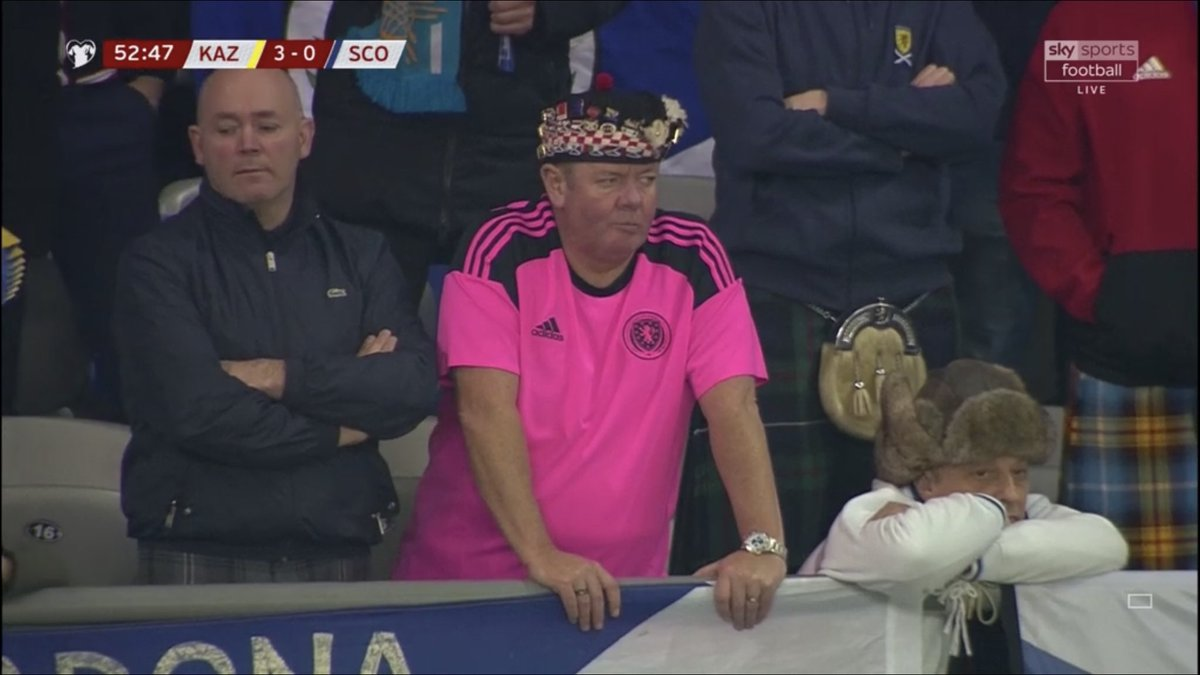 When you spend your summer with a Croatian flag in your name and then get SLAPPED 3-0 by Kazakstan. 🤦🏻♂️