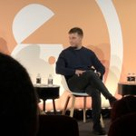 """""""Voice Search is not a trend. At the moment it's owned by one or two companies but offers consumers one result and no choice. Brands need to get ready for voice search to really clean up the consumer experience"""" @domjoz live on @advertisingweek stage"""