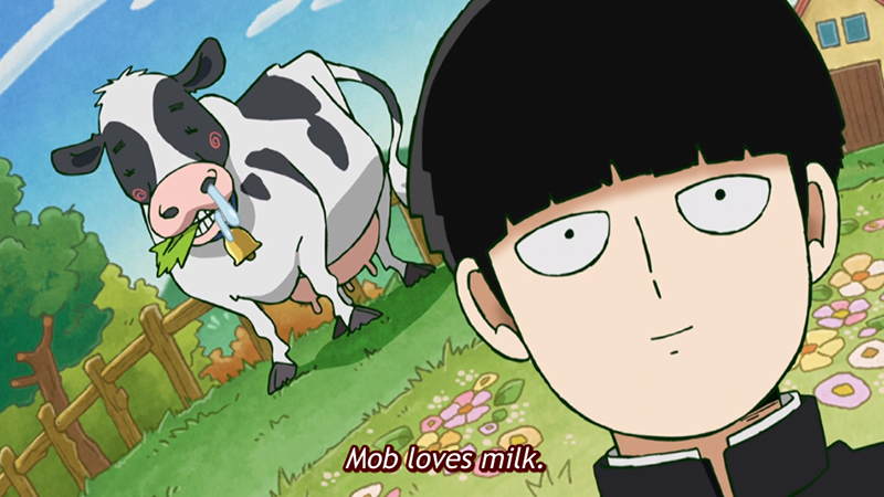Mob loves milk.