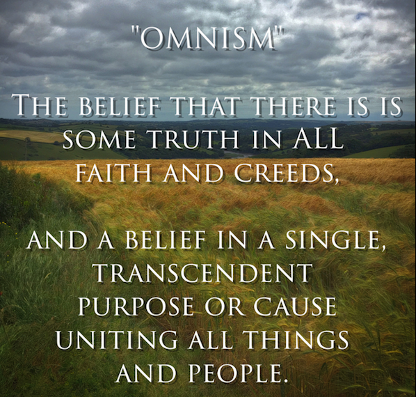 Living Theosophy À¥ On Twitter Omnism The Belief That There Is Some Truth In All Faiths And Creeds And The Belief In A Single Transcendent Purpose Or Cause Uniting All Things Omnism as an ideology in general is the recognition of there being truth and essence in omnis: living theosophy ॐ on twitter