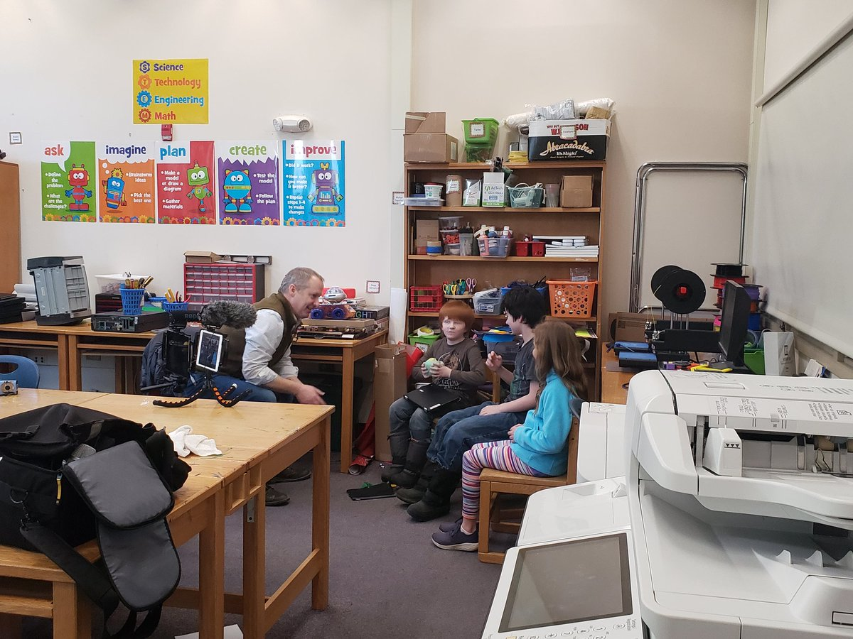 Want to know how students learn best? Ask them! 9 of our 3rd and 4th graders had the chance to sit down with @innovativeEd to share all about their learning journey this year. We are so proud of the advocates they have become! @ProctorSchool @MsElliott345 #vted #grcsu #PrES<br>http://pic.twitter.com/myRwzbpSeW