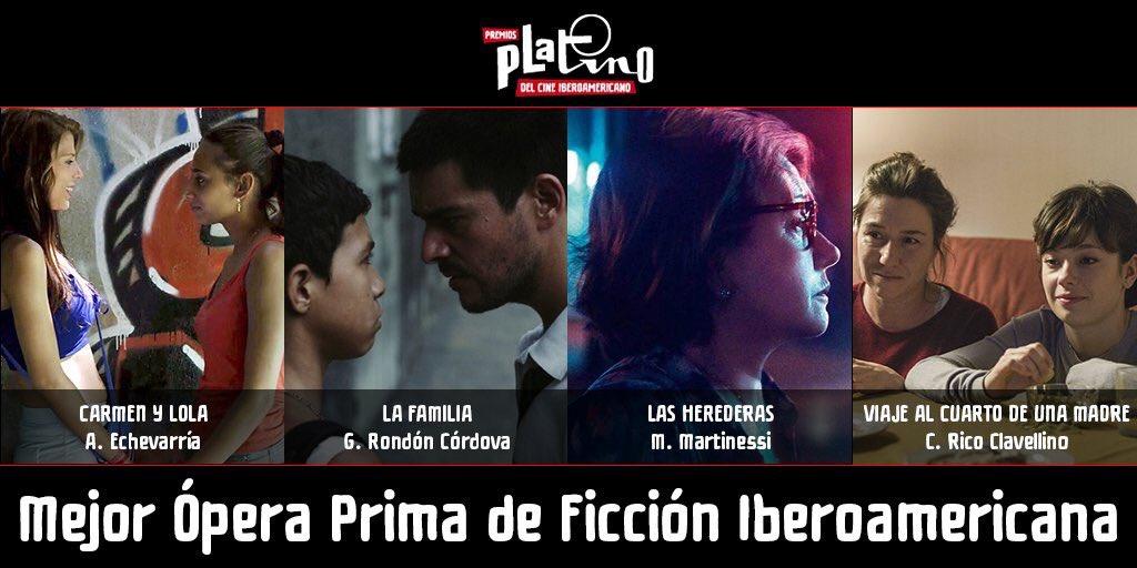 🎞 Es un honor inmenso que #CarmenYLola haya sido nominada entre lo mejor del cine iberomericano!  🎞 Gracias por estas dos nominaciones a los #PremiosPLATINO2019nom #PremiosPlatino y Enhorabuena a todos los nominados‼️