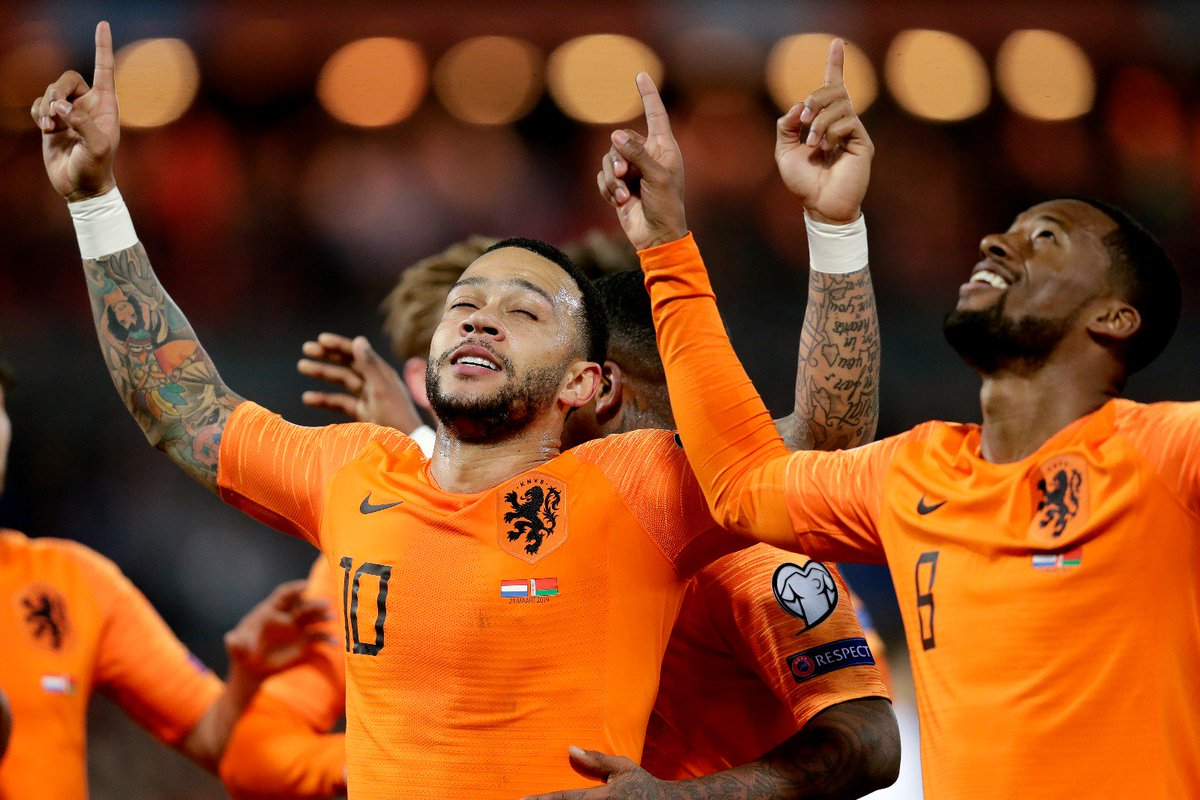 What a way to start the qualifiers! 🙌🏾 4 goals, clean sheet and very happy to contribute with a goal! 👉🏾🦁👈🏾 So proud of our team!! 🔥🇳🇱 #NEDWRU