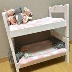 IKEAのドールベッドを二段ベッドに改造!可愛くできたと思ったらまさかの展開!