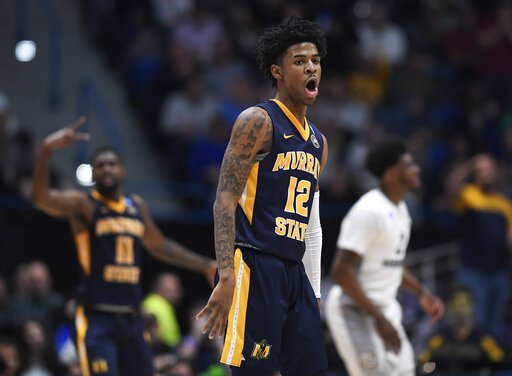 Ja Morant has become the 8th player to record a triple-double in the tournament since assists became an official stat in 1983-84. He joins:  Draymond Green (2x) Cole Aldrich Dwyane Wade Andre Miller David Cain Shaquille O'Neal Gary Grant