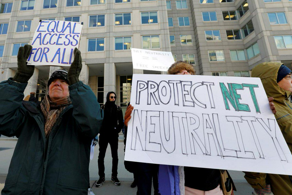 U.S. House to vote to reinstate net neutrality rules in April https://reut.rs/2TZ2JOq