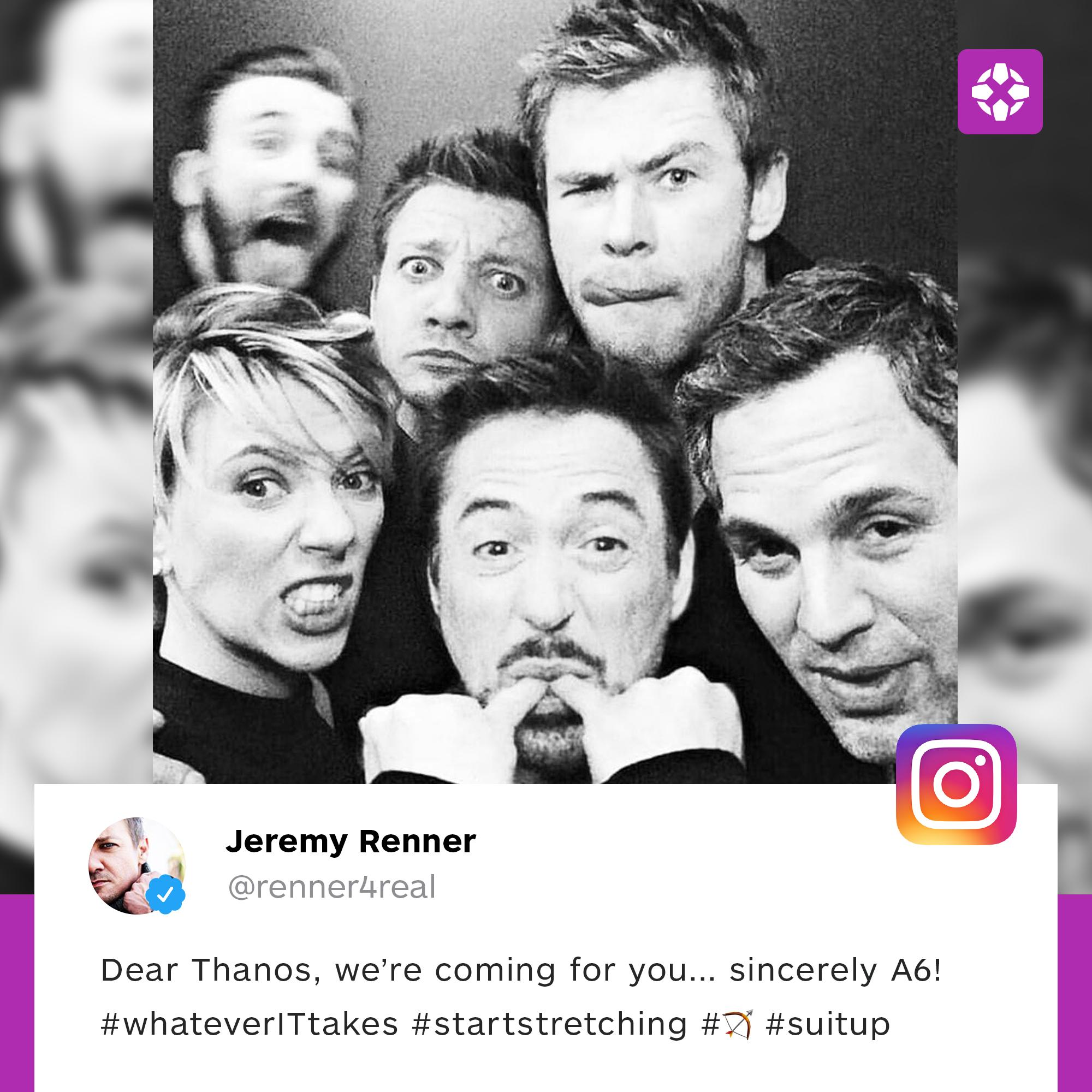 �� (via @Renner4Real   Instagram) https://t.co/GjK56aWSO9