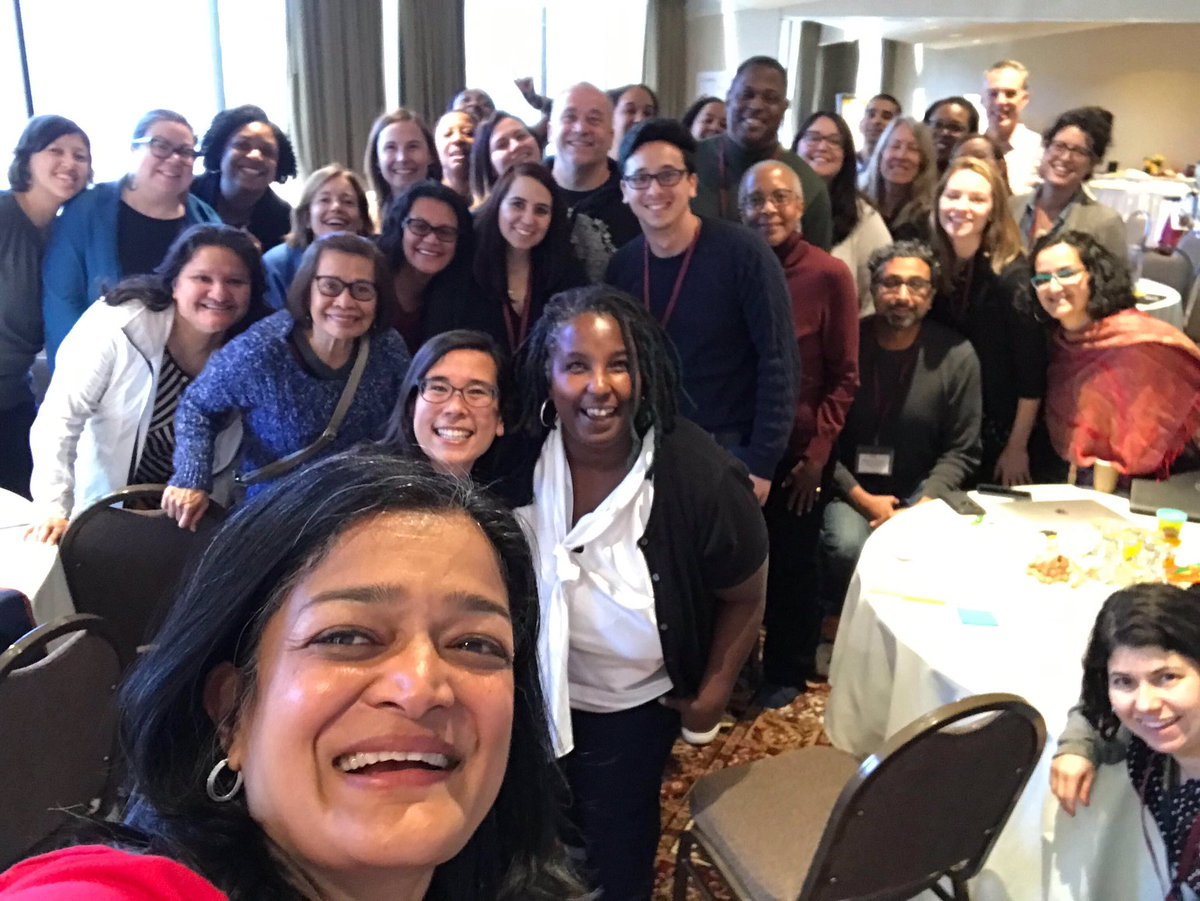 Look who stopped by our Board retreat in Seattle! We were inspired to hear from @RepJayapal about how she's leading on racial & econ justice