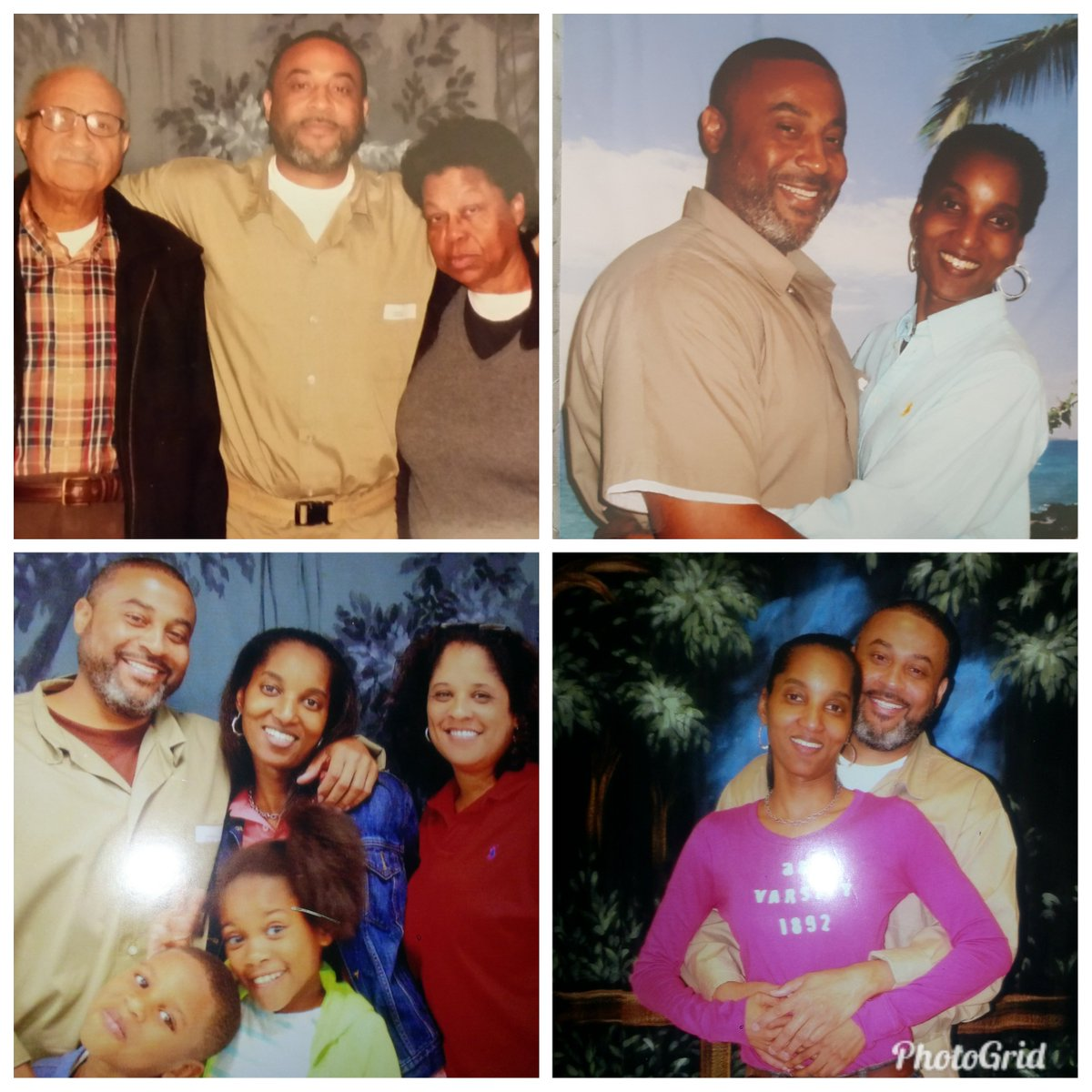 David Barren/family is in a holding pattern waiting to embrace, rejoice and ENJOY LIFE!  Altho he received clemency from @POTUS44 his outdate is 2034! @AnricaC and David need #ClemencyNow @realDonaldTrump @jaredkushner @RachelBarkow @Oslerguy @EvidenceProf @TopekaKSam @VanJones68