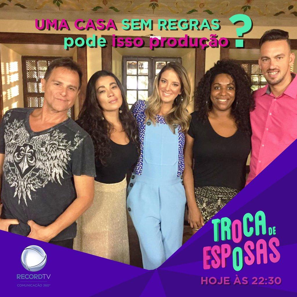 Record TV Comunicação's photo on #TrocaDeEsposas