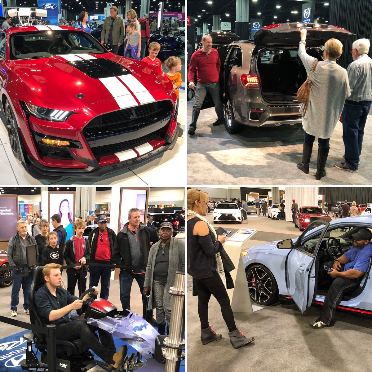 When are you coming to #AIAS19? What do you look forward to seeing the most? Tell us! http://GoAutoShow.com  | #Atlanta #AtlantasSpringThing #autoshow #familyevent