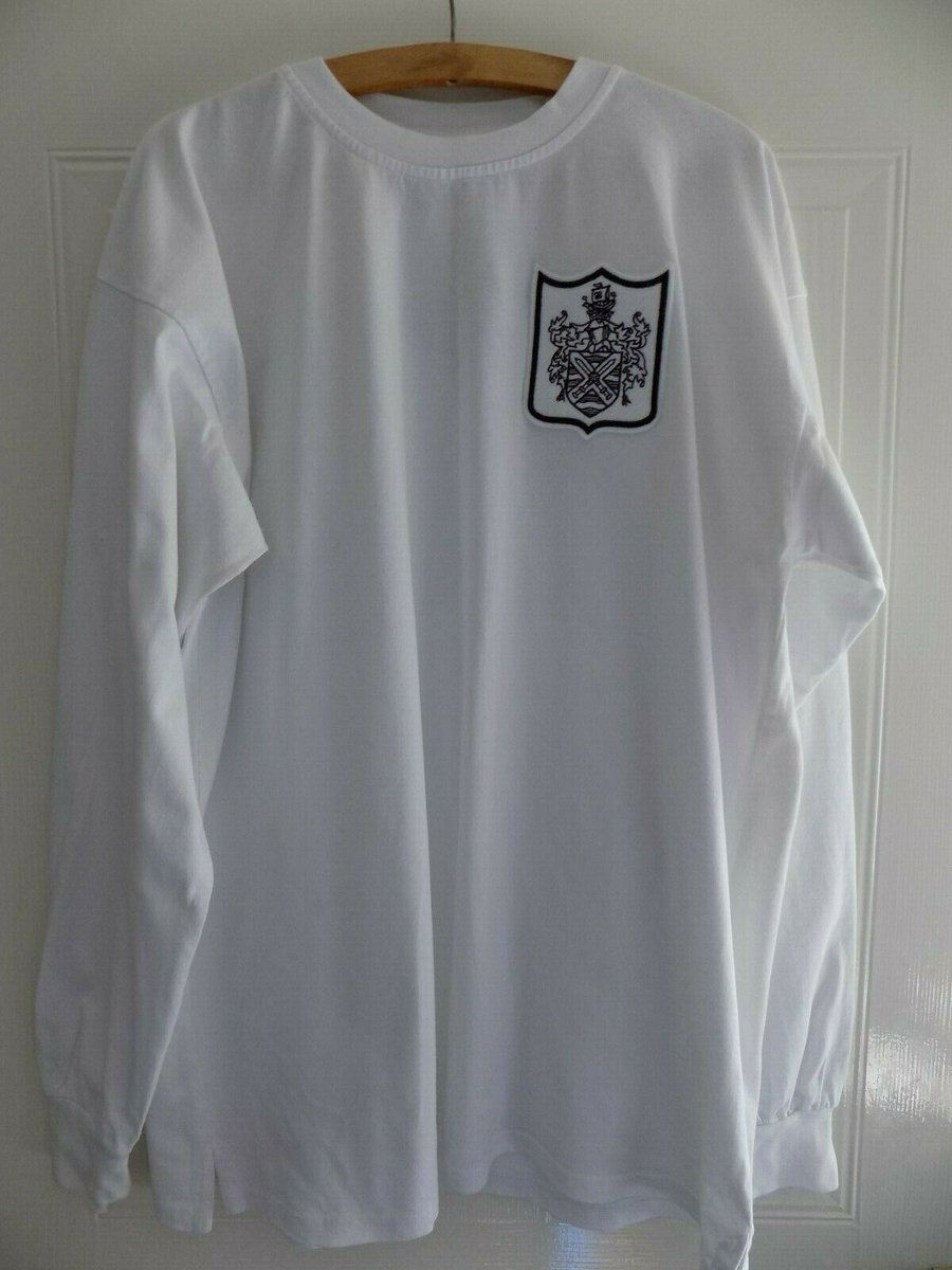 8800f7533 Score Draw Retro Manchester United 1973 Home Shirt