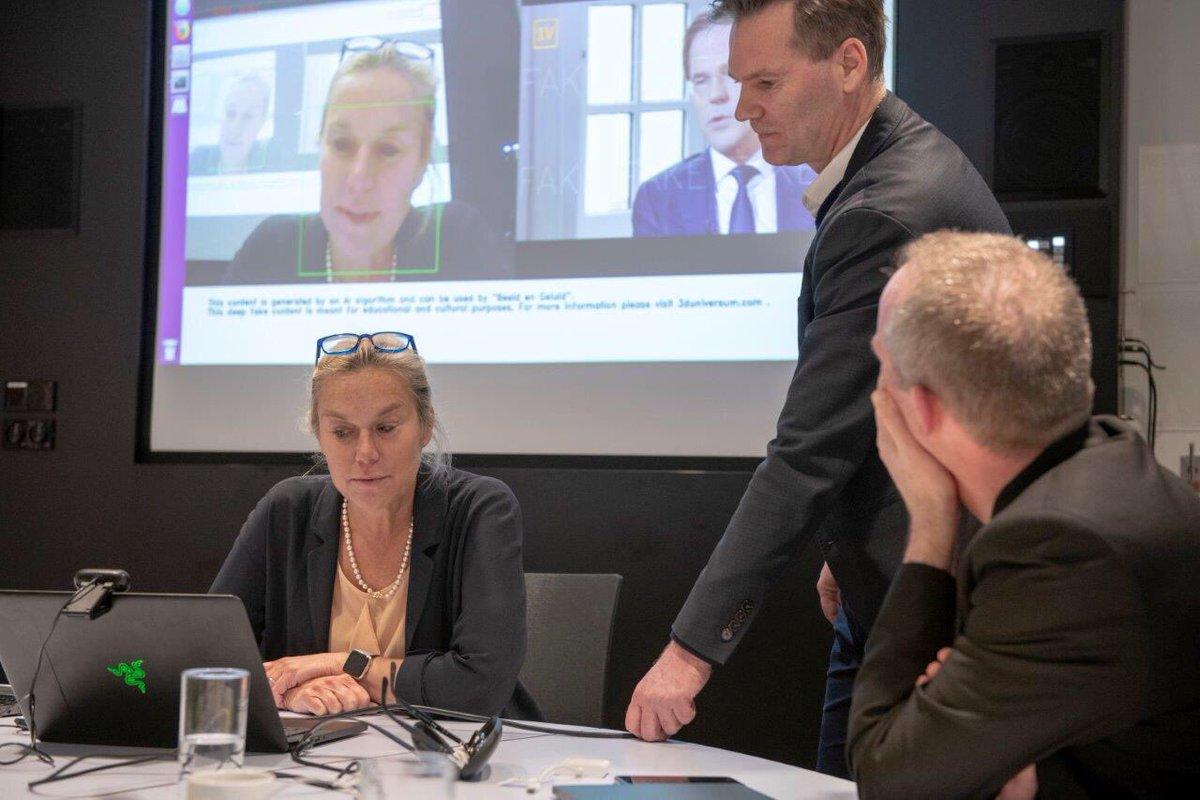 Maandag naar Silicon Valley, om Nederlandse bedrijven te helpen daar verder door te breken. Vandaag ter voorbereiding in Amsterdam. Briljante uitleg gekregen bij #ic4ai over AI en de toekomst van technologie en maatschappelijke toepassingen. #NLInnovation https://t.co/HzQZVhQUbP