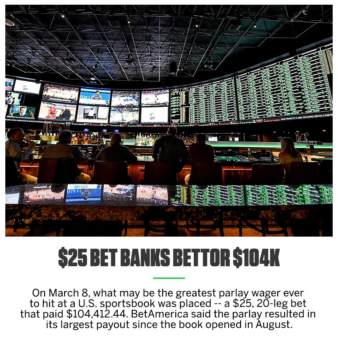 The parlay featured point spreads, money lines and over/unders on a mix of NBA and college basketball games. �� https://t.co/TcFzpR4gHt