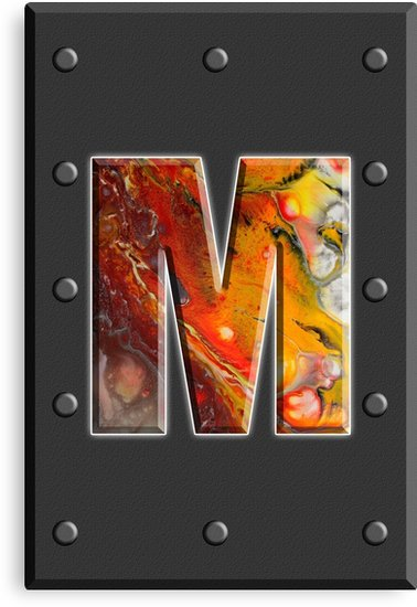 https:// pst.cr/XRW1  &nbsp;   Capital letter M of the fluid art alphabet in concrete #CanvasPrints #giftideas #decoration #decorativeArt<br>http://pic.twitter.com/pdTLKTUpTW