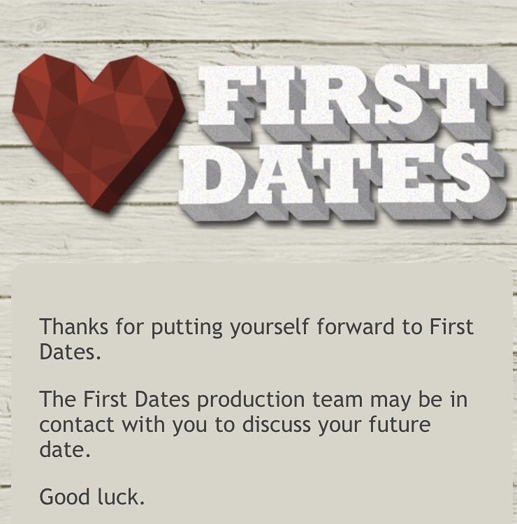 Andrew Beardsley's photo on #FirstDates