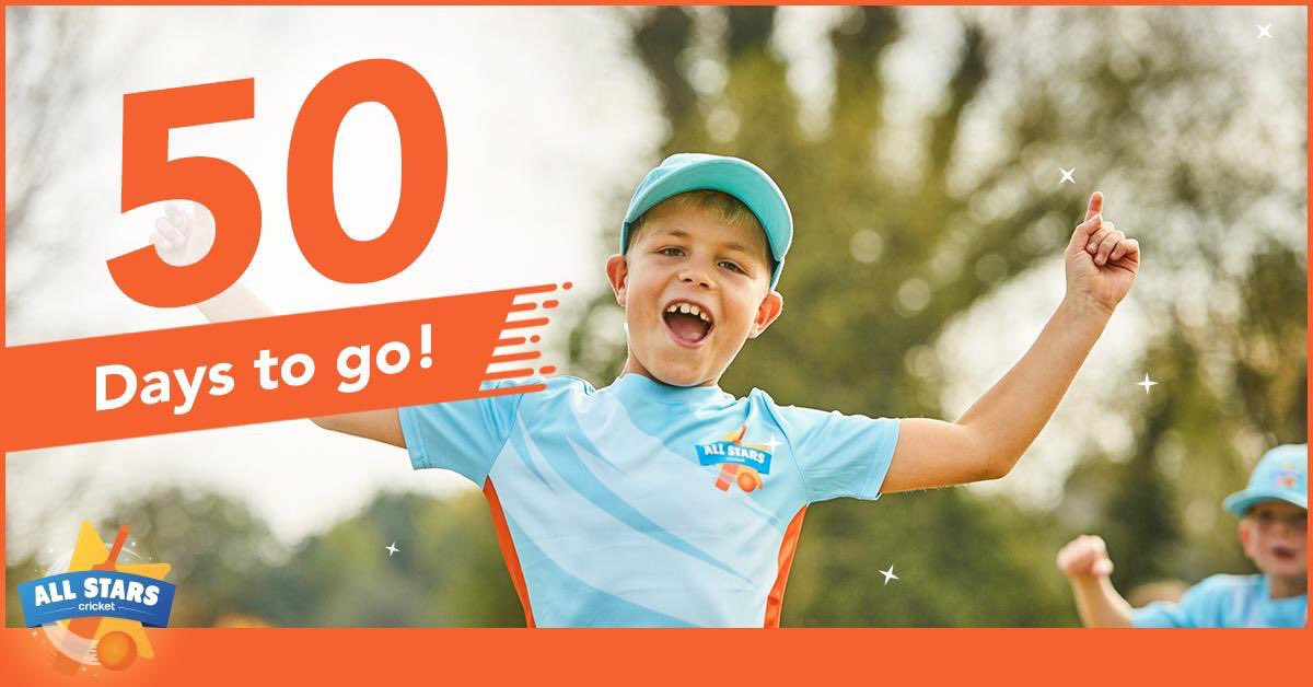 test Twitter Media - 📅COUNTDOWN: 50 days until the start of @allstarscricket 🌟🏏  If you haven't already, join the 927 5-8 year old who are signed up to 8 weeks of fun over the course of this summer?  ✍🏻Via https://t.co/U8JtX86gzp  #BigMoments #FunWithFriends #FamilyActivity #Summer2019 https://t.co/YEpyfeVZZG