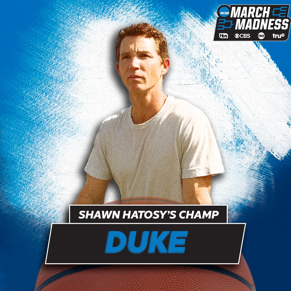 Tnt Drama On Twitter Shawnhatosy Knows How To Pick Em The Animalkingdom Star Checked In With His Marchmadness Picks Do You Think He S Got It Right Https T Co Sotqokkabp