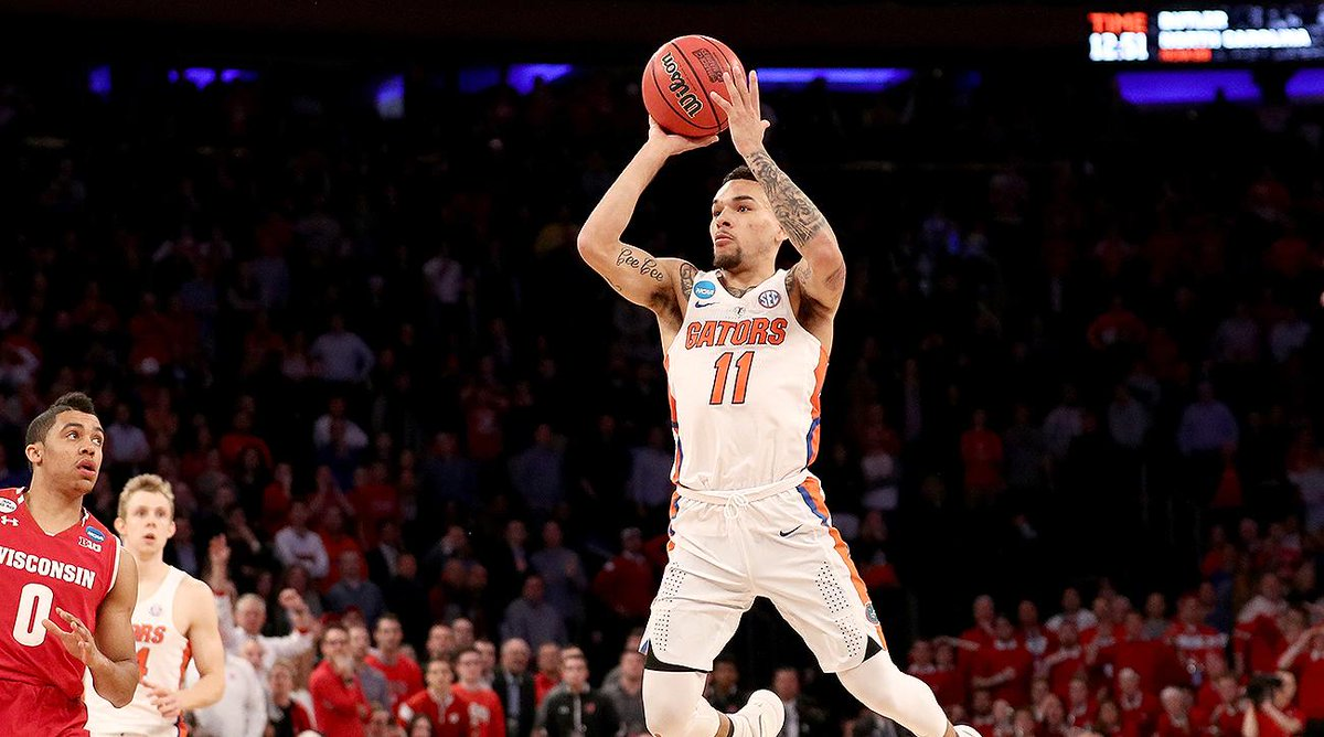 Today is National Memory Day... at the Dome we will never forget THE SHOT by @Chiozza11 . Good Luck @GatorsMBK as they play Nevada today! Let's Go Gators!!