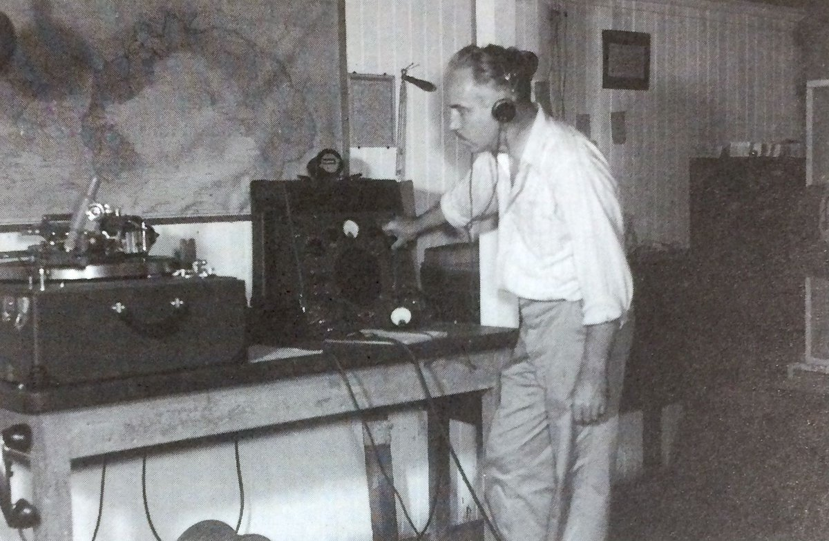 During World War II, Dr. Allen & company assisted in a military project to record jungle sounds in Panama. They used weather-hardy aluminum-based vinyl records to store audio instead of film, & this method became the standard for many years to come. #history #birds #audio