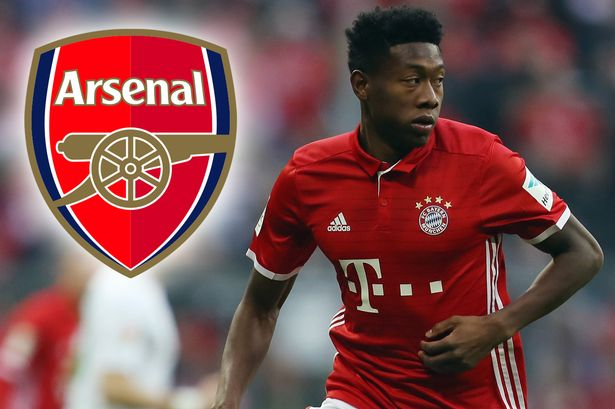 Alaba:  &quot;When you&#39;ve been an #Arsenal fan as a kid you will be one your whole life in some way&quot; [@MirrorFootball]#afc <br>http://pic.twitter.com/rPBIRdlv43