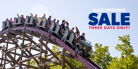 LAST DAY TO SAVE! Don't miss our on our Gate Opening Sale! Our offer for BOGO Single day admission and an exclusive Bring-a-Friend deal for Passholders ends TONIGHT!   Snag tickets and visit by 6/30: https://bit.ly/2OcR4Gm