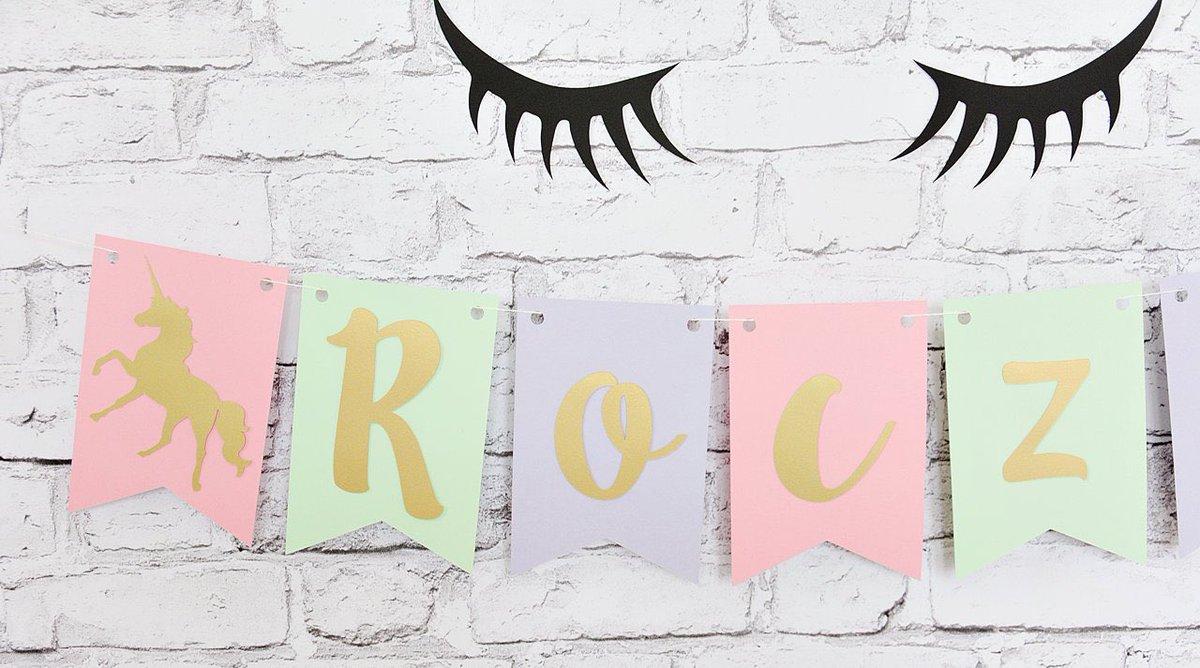 Socutesolovely Unicorn Birthday Banner Personalized Nursery Unicorn