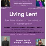 Image for the Tweet beginning: This Lenten series at Queen's