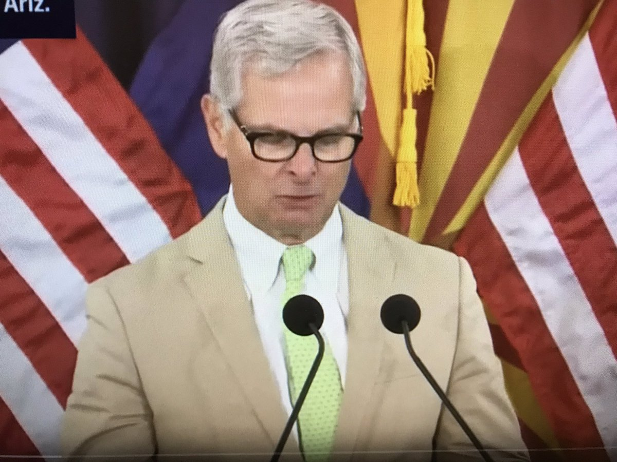 ".@SenJohnMcCain friend Rick Davis offered thanks on behalf of the McCAIN family in August. ""The combined efforts of the Trump administration, the White House, Sec. Mattis and the Department of Defense, especially and the Military District of Washington..."" (1/2)"