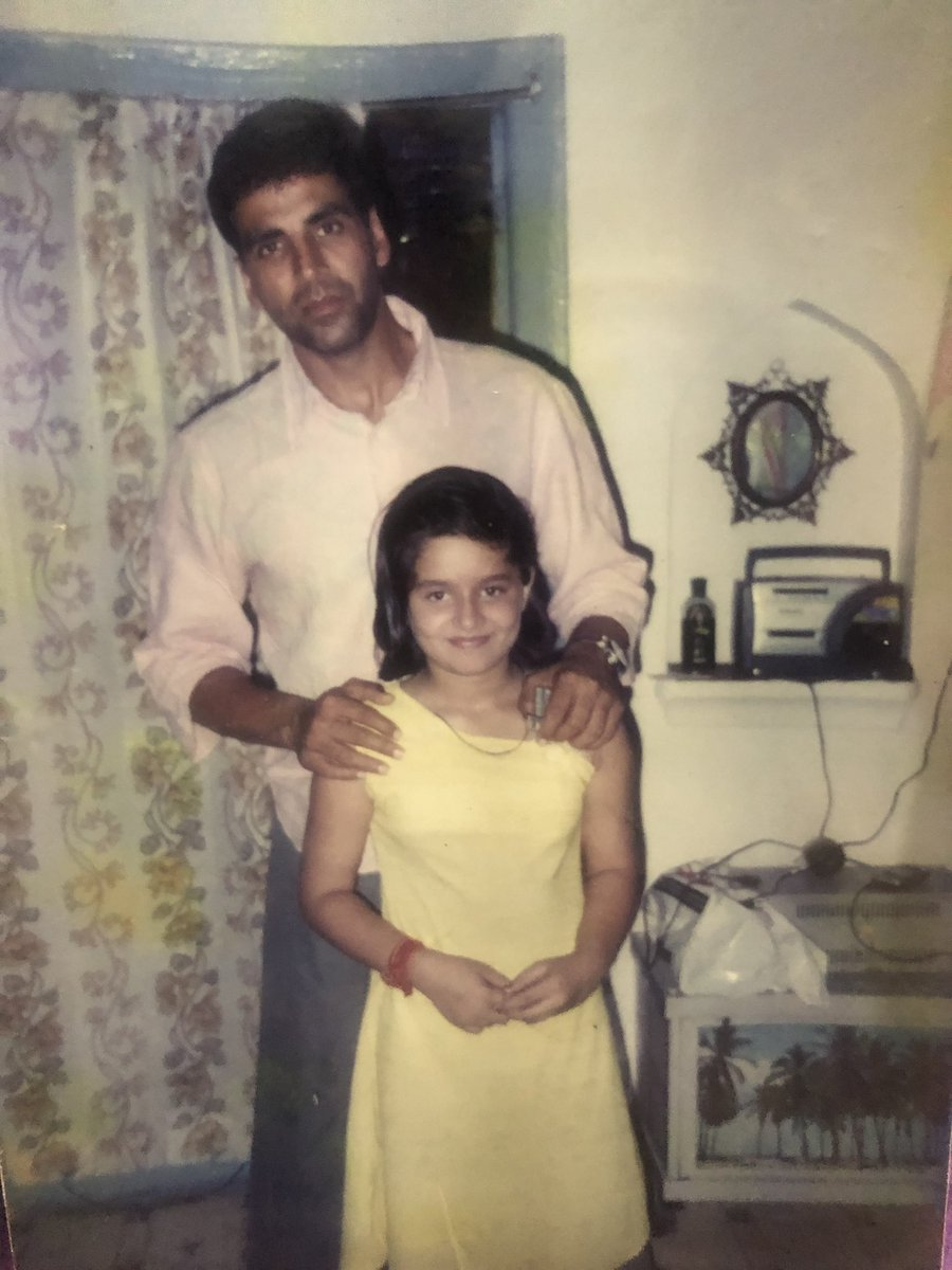 Hey @akshaykumar long time no see?  I still remember the time when I had 101 fever but was courageous to meet my favourite actor of all time back in 2004, when Khakee was about to release! @akshaykumar from 'khakee to kesari' there is a lot more on the way #bestwishes #TBT <br>http://pic.twitter.com/awTX1fgDA2