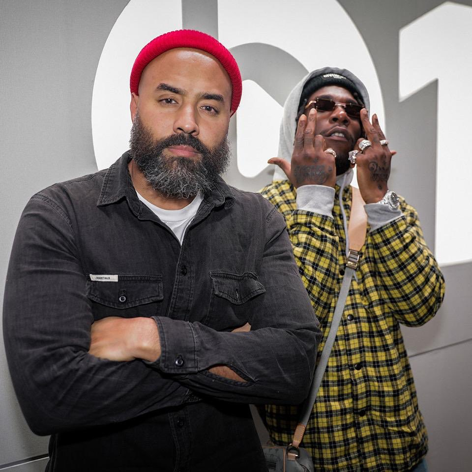 Image result for Burna Boy and Ebro