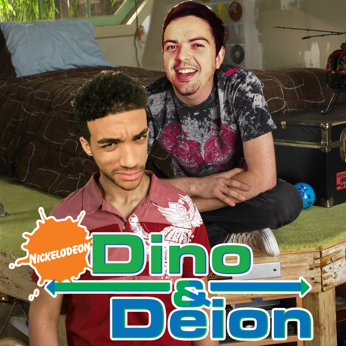 Leaked new Nickelodeon series Dino & Deion @Rhymestyle @SeeReax