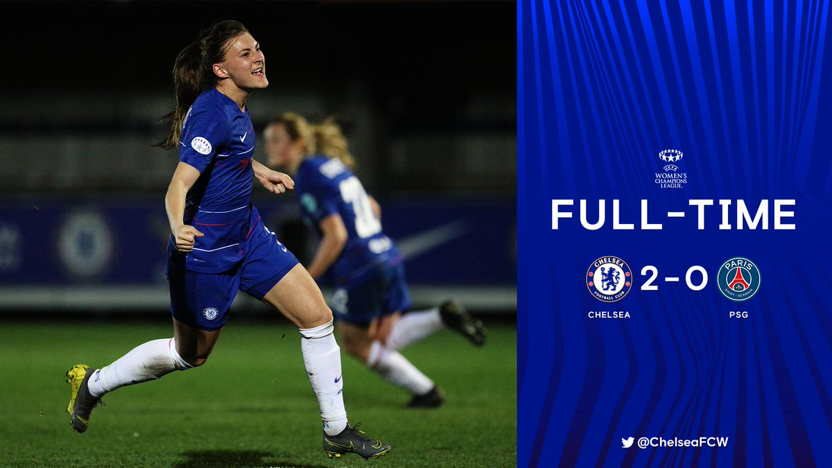 What a night. What a result! 🙌  Bring on Paris next week!   #CHEPSG