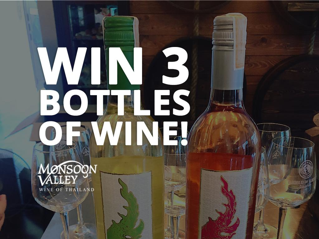 #MonsoonValley gives you the chance to #win three bottles of #wine. Just RT and #follow us!