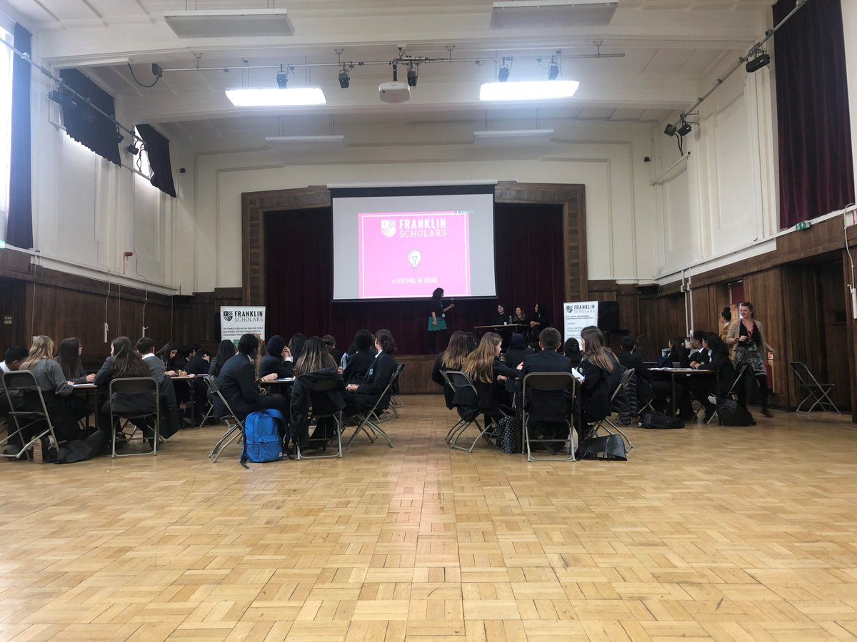 Congratulations to Y10 students who came first in the @FranklinScholar Festival of Ideas today. Details and more photos: https://t.co/keIl2mleVx https://t.co/UwlBF8777t