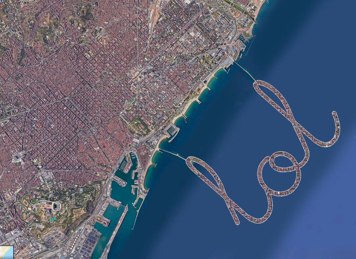 Ja sabeu que no m'agrada parlar de les meves coses però també tinc un projecte per Barcelona: