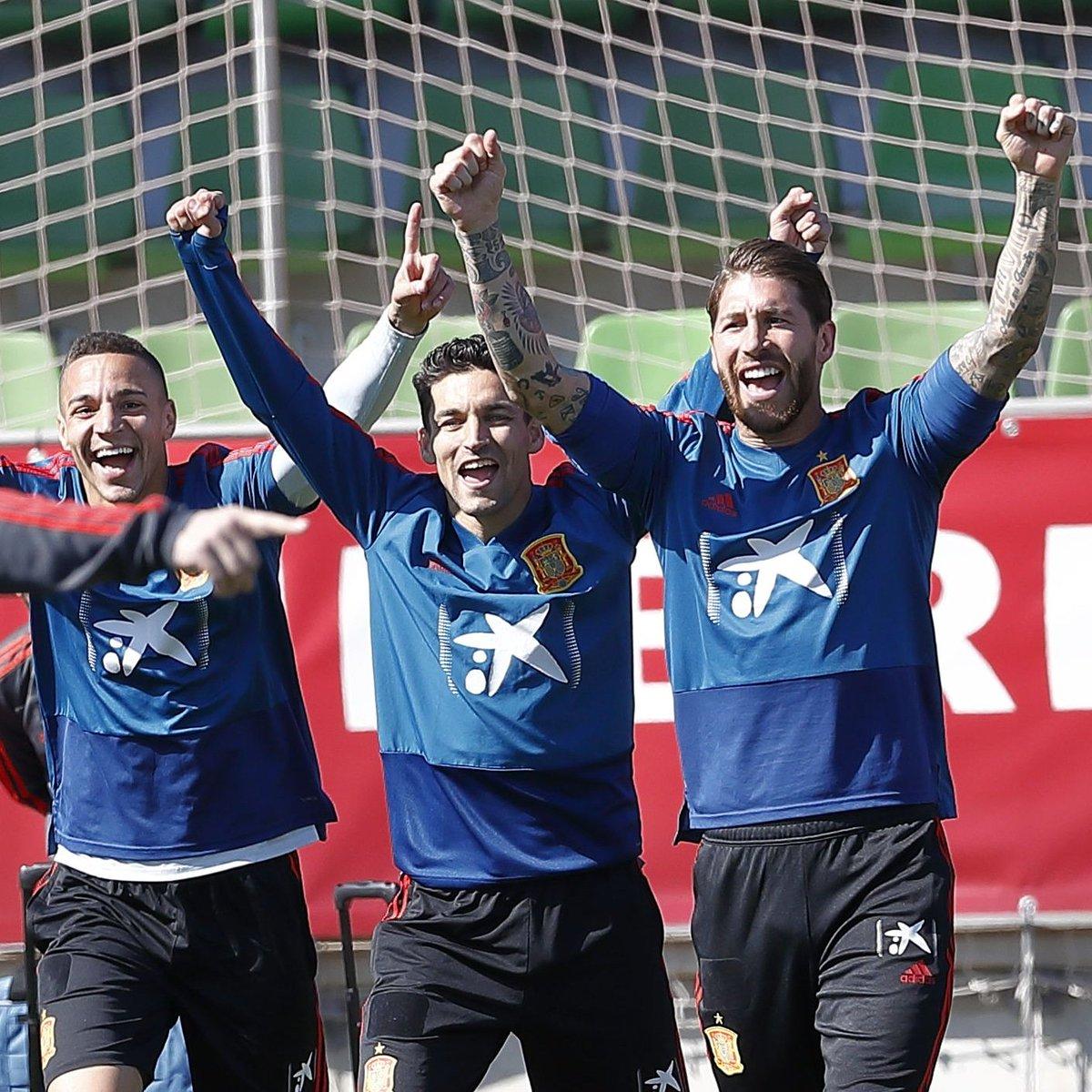 ✅ Doble sesión / Double training session 🔜 Valencia 🙆♂️🙆♂️🙆♂️ #VamosEspaña 🇪🇸