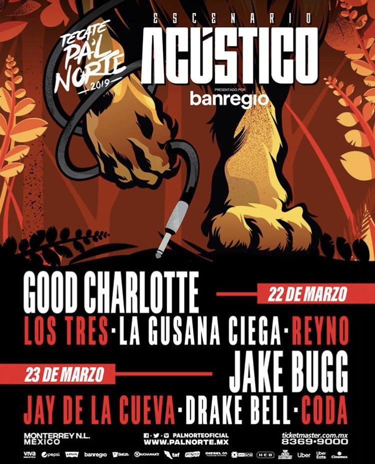 No olviden que este 22 de Marzo se estará presentando @lagusanaciega en el festival @TecatePalNorte. Adquiere tus boletos a través de Ticketmaster ➡️🎟💥