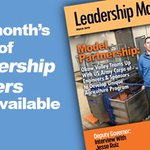 Image for the Tweet beginning: The March edition of Leadership