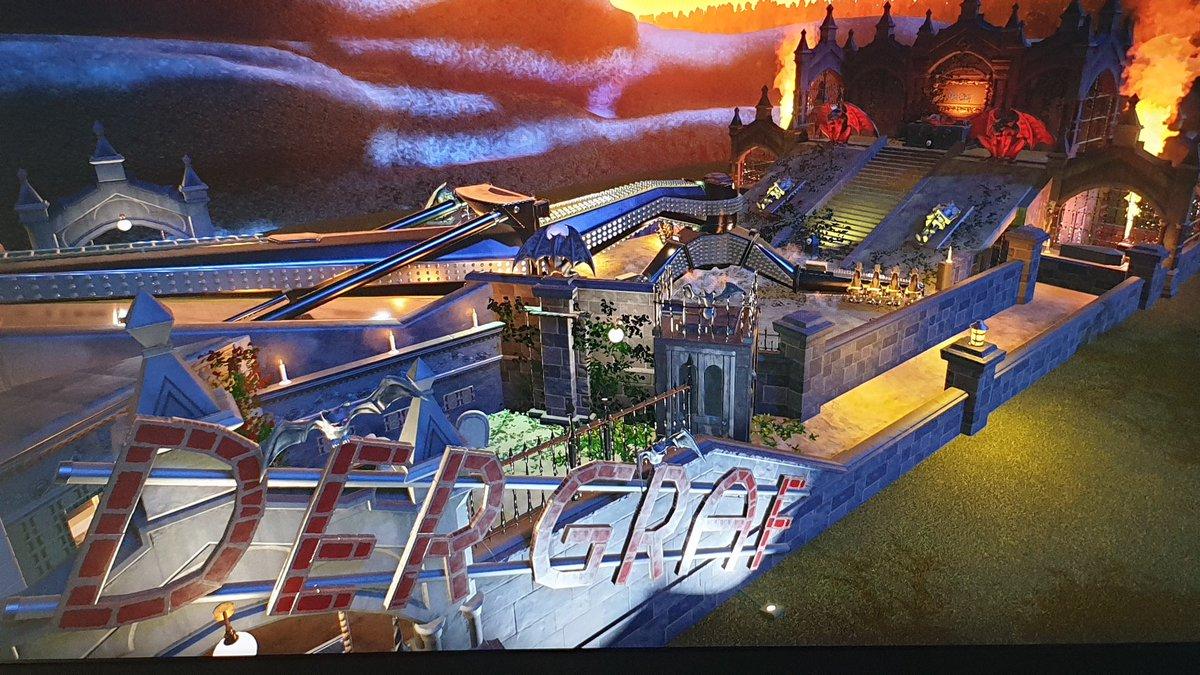 """mydorrka Planet Coaster 🎢 Spooky Action ride """""""