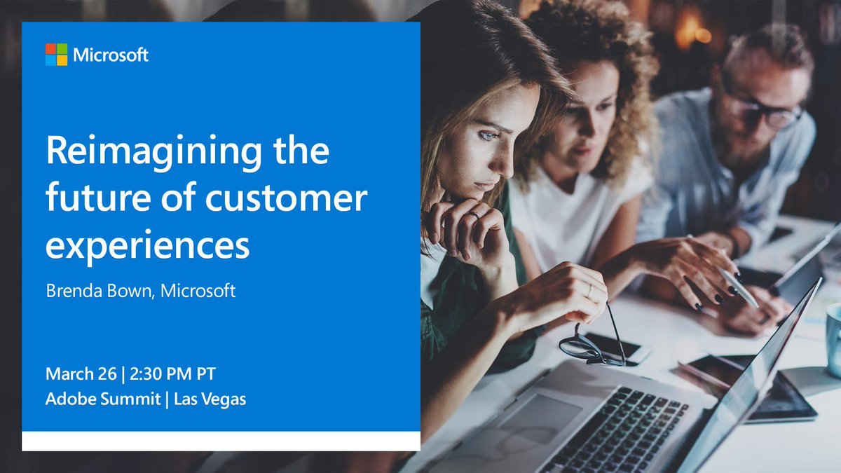 Brenda Bown discusses creating unique and immersive customer experiences with leading-edge cloud tech to drive transformation. Register for our #AdobeSummit session: http://msft.social/WQal3B