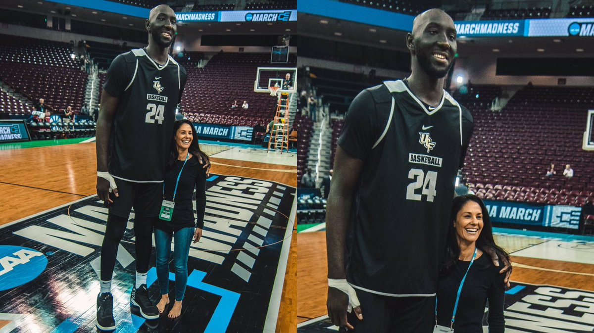Meet 7-foot-6 Tacko Fall, the tallest player in the NCAA tournament