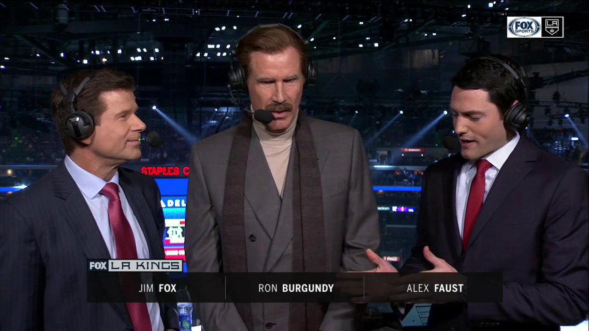 LA Kings's photo on Ron Burgundy